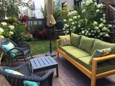 Outdoor Sofa with 2x4s | Do It Yourself Home Projects from Ana White