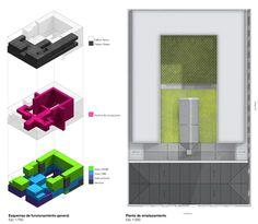 Mención Concurso Puesta en Valor y Renovación del Monumento Nacional Palacio Pereira / Tidy Arquitectos + NKZ,esquema general