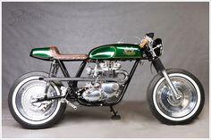 Triumph Bonneville T140 - Yuri ShifCustoms - Pipeburn - Purveyors of Classic Motorcycles, Cafe Racers & Custom motorbikes