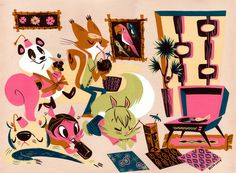 Swingin Party by Pocketowl.deviantart.com