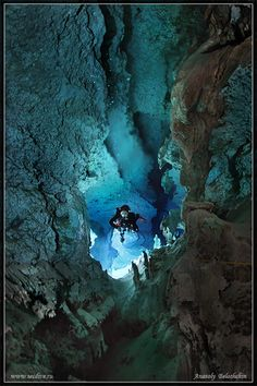 ˚The Cave Calavera - Yucatan, Mexico