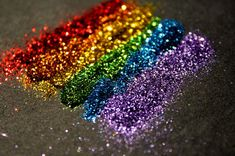 blue, colorful, colourful, glitter, green, lilac, orange, purple, rainbow, red, sparkle, sparkly, yellow