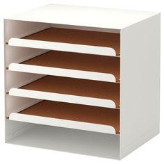 IKEA - KVISSLE Letter tray white