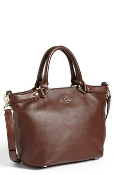 kate spade new york 'hamilton heights - canteen' crossbody tote, Large Dictionary Brown
