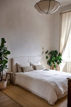 Bed Rug, Natural Bedroom, Aesthetic Bedroom, Home Hacks, Interior Inspiration, Interior Ideas, Decoration, My Room, House Design
