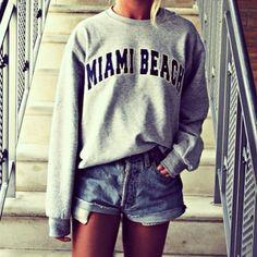 Miami Beach, fashion, girl, hipster