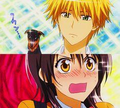 Kaichou wa Maid-sama: Usui and Misaki Misaki, Usui, Manga Bl, Manga Anime, Noragami Anime, Anime Kiss, Haikyuu Anime, Anime Art, I Love Anime