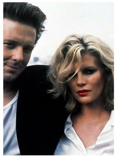 9 1/2 Weeks' Mickey Rourke and Kim Bassinger - (here they remind me of Ryan Gosling and Kate Moss)