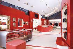 Retail Design | Store Interiors | Shop Design | Visual Merchandising | Retail Store Interior Design | Great Design Interior Ferrari Factory Store: