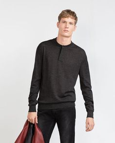 Image 2 of EXTRA FINE MERINO SWEATER from Zara