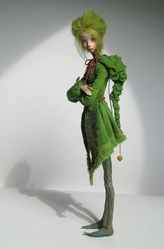 The Dolls of Dorote Zaukaite Villela – A Steampunk Opera (The Dolls Of New Albion) Elves And Fairies, Small Sculptures, Wire Sculptures, Doll Maker, Designer Toys, Bjd Dolls, Faeries, Beautiful Dolls, Paper Dolls
