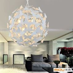 #Butterflylampcover Living Room Lighting, Bedroom Lighting, Home Decor Furniture, Furniture Projects, Pendant Lamp, Pendant Lighting, Lamp Cover, Cheap Pendant Lights, Old Lamps