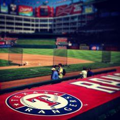 The Ballpark in Arlington home of the Texas Rangers. Summer 2013.