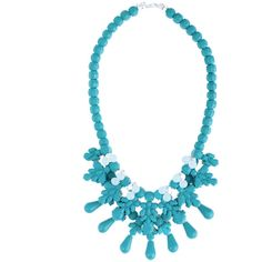 EK Thongprasert Turquoise DeCote Necklace ($496) ❤ liked on Polyvore featuring jewelry, necklaces, laser-cut jewelry, ek thongprasert jewelry, turquoise jewellery, ek thongprasert and green turquoise jewelry