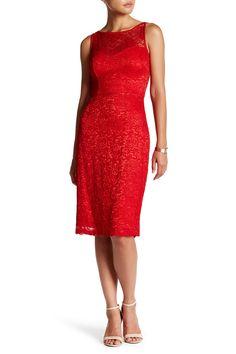 Lace Sheath Dress by Betsey Johnson on @nordstrom_rack