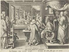 Zijdebewerking, Philips Galle, ca. 1589 - ca. 1593