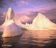 Picture of an Iceberg in late evening light off the coast of Newfoundland on the canadian atlantic coast, Canada. Ice Pictures, Colorful Pictures, Nature Pictures, America And Canada, North America, Dream Book, Perfect World, Berg, Wonderful Places