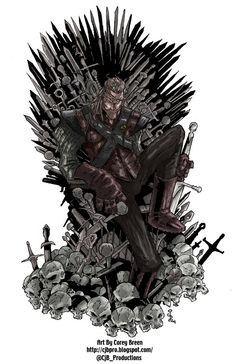 Ned Stark as Hand sits the throne