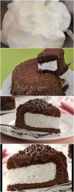 QUER UM BOLO CHIQUE E GOSTOSO PARA SUA VISITA? VEJA AQUI>>>Bata 4 gemas com 1 1/2 xícara (chá) de açúcar, a margarina e o chocolate em pó. Adicione o leite, a farinha e o fermento peneirados. #receita#bolo#torta#doce#sobremesa#aniversario#pudim#mousse#pave#Cheesecake#chocolate#confeitaria