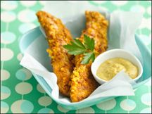 Hungry Girl's Sweet & Cap'n Crunchy Chicken-inspired by the classic version that Planet Hollywood serves up.