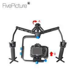 2 Aixs Spdier Video Spider Steadicam Steady Rig for DSLR Camera Camcorder