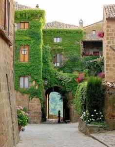 Civita di Bagnoregio (Italia)
