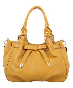 Mellow World Mustard Reverie Bow Satchel. Cute HandbagsPurses ... aded54786cfe2