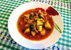 🇭🇺 Gulyásleves Vegetáriánus Thai Red Curry, Vegetarian, Cooking, Ethnic Recipes, Supe, Food, Kitchen, Essen, Meals