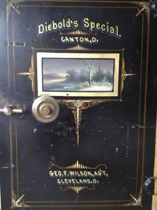 Antique Diebold Safe - late 1800 or early 1900 City of Toronto Toronto (GTA) image 3 Antique Safe, Safe Vault, Deposit Box, Secret Rooms, Vaulting, Gta, Locks, Toronto, Antiques