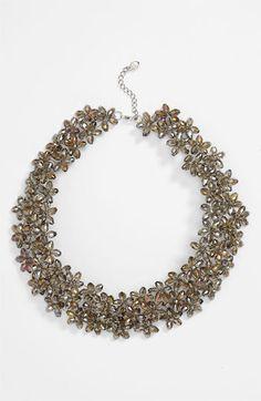 Nakamol Design Floral Collar Necklace