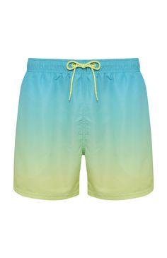 702b7ad29b Mint Ombre Swim Short. Swim ShortsPrimarkSwim TrunksOmbreSwimsuitShadows