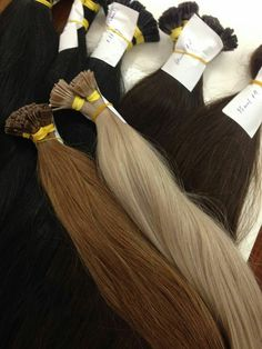 New arrival fusion hair extensions Pre Bonded Hair Extensions, Fusion Hair Extensions, Remy Human Hair, Weave Hairstyles, Curls, Fashion, Hair, Moda, Braided Hairstyles