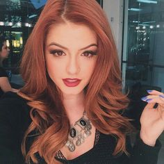 Goddess Hairstyles, Bride Hairstyles, Pretty Hairstyles, Updo Hairstyle, Auburn, Light Red Hair, Red Heads Women, I Love Redheads, Red Hair Woman