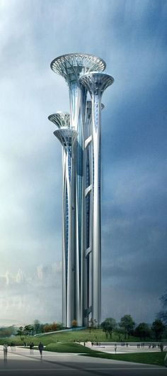 Music Towers in Warsaw,  vision