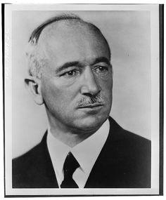 President Edvard Beneš of Czechoslovakia, circa 1942