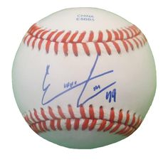 Ernesto Frieri Autographed Rawlings ROLB1 Leather Baseball, Proof Photo. Ernesto Frieri Signed Rawlings Baseball, Philadelphia Phillies, Tampa Rays, Los Angeles Angels, San Diego Padres, Pittsburgh Pirates,Proof  This is a brand-new Ernesto Frieriautographed Rawlings official league leather baseball.Ernestosigned the baseball in blueball point pen.Check out the photo of Ernestosigning for us. ** Proof photo is included for free with purchase. Please click on images to enlarge. Please…