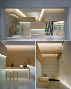 Commercial Interior - Beautiful idea for Yoga or Pilates Studio | Gwenaël Nicolas. - Yellowtrace