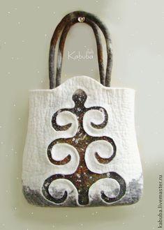 felt bag by Kabuba felt