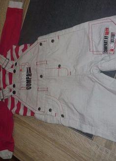 À vendre sur #vintedfrance ! http://www.vinted.fr/mode-enfants/bebes-garcon-ensembles/37514562-salopette-et-haut