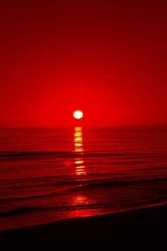 red sunset l by (candlebrightcreation) Red Aesthetic Grunge, Aesthetic Colors, Aesthetic Pictures, Photo Wall Collage, Picture Wall, Images Esthétiques, I See Red, Applis Photo, Red Sunset