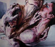 """Flesh Connection"" by Duarte Vitoria   You can almost feel their emotions and desires.....xoxo"