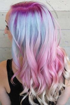 Hot Purple and Blue Hair Looks And#8211; Find Your Perfect One ★ See more:
