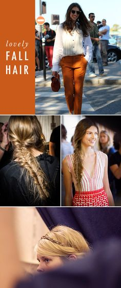 A CUP OF JO: Favorite fall hair