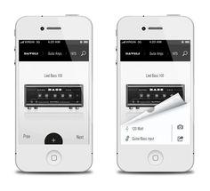 Davoli iPhone App on Behance