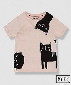 my k pink cat t-shirt We are want to say thanks if you like to share this post t. my k pink cat t- Kids Brand, Chat Rose, Pink Cat, Personalized T Shirts, Kids Prints, Boy Fashion, Fashion Bags, Fall Fashion, Fashion Shoes