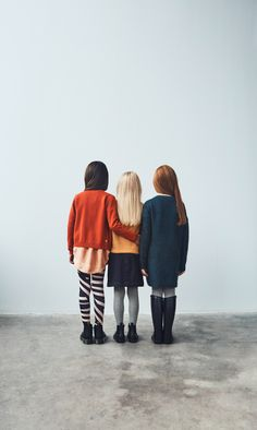 Graphic campaign style for Molo winter 2017 kids fashion photography
