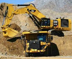 Heavy Construction Equipment, Construction Machines, Heavy Equipment, Cat Excavator, Excavator Parts, Earth Moving Equipment, Caterpillar Equipment, Cat Machines, Marine Engineering