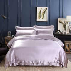 30 Momme Silk Sheets, Pillowcases, Duvet Covers & Bed Skirts