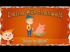 Hans im Glück - Märchen und Geschichten für Kinder | Brüder Grimm | Deine Märchenwelt - YouTube Grimm, Family Guy, Fictional Characters, Youtube, Kid Movies, Stories For Children, Cow, Horseback Riding, Fantasy Characters
