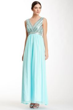 Sequined Bodice Gown on HauteLook--all sizes on sale for $60
